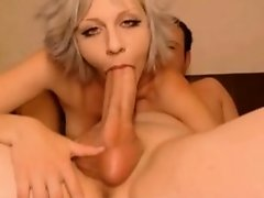 Pair fucking on web web camera and engulfing his large pecker #3
